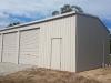 Garage- 12150x7570x3600 High - Colorbond Dune