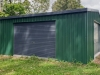 6m x 6m x 2.4m High Gable Roof Garage